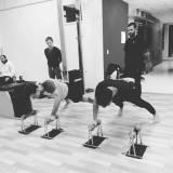 formação em pilates com bola