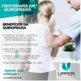 quiropraxia para dor na coluna Jardim São Paulo